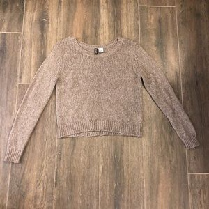 H&M cropped sweater